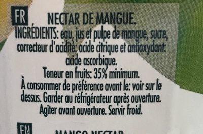 Compal Vital Fruits Rouges Juice - Ingrédients