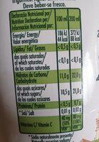 Jus d orange - Voedingswaarden - fr