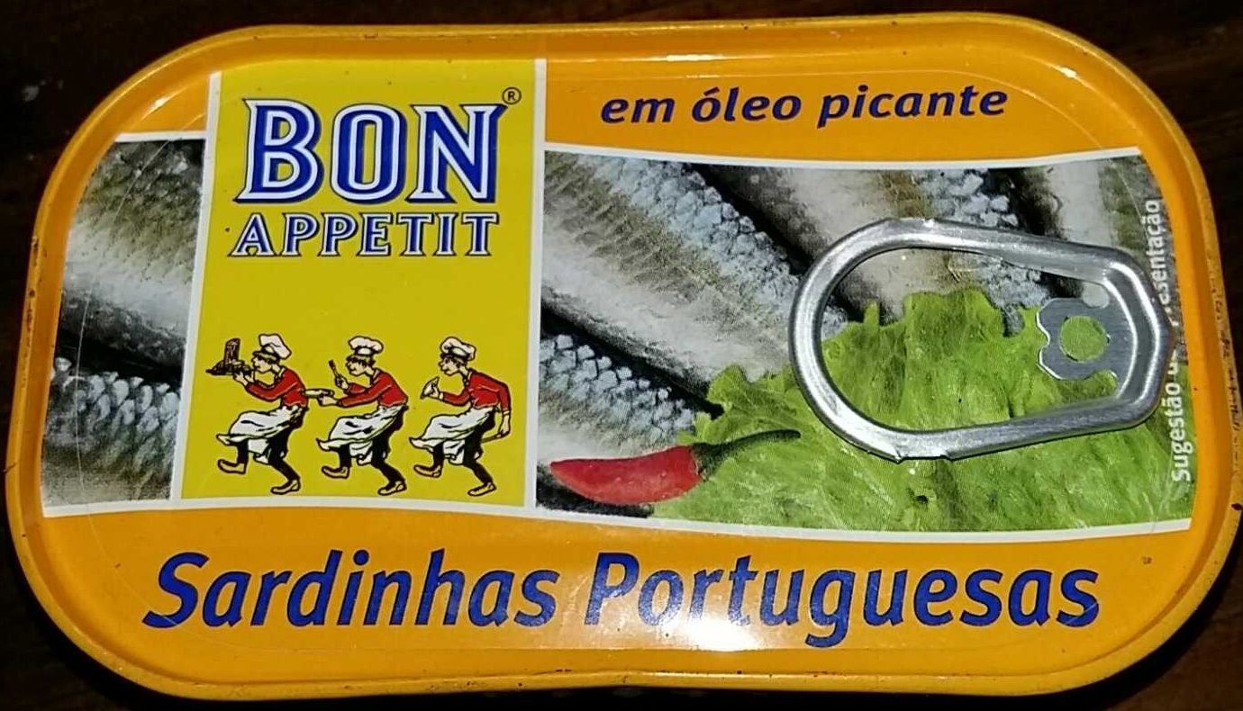Sardines à l'huile végétale piquante - Produit