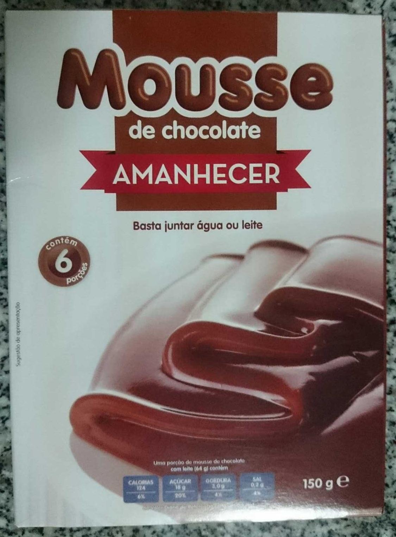 Mousse de chocolate - Product