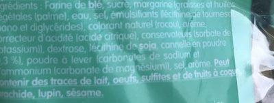 Linguas de gato - Ingredientes - fr