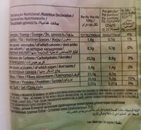 Cacarola Haricots Rouges - Voedingswaarden - fr