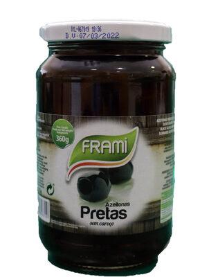 Olives noires Frami - Ingrediënten