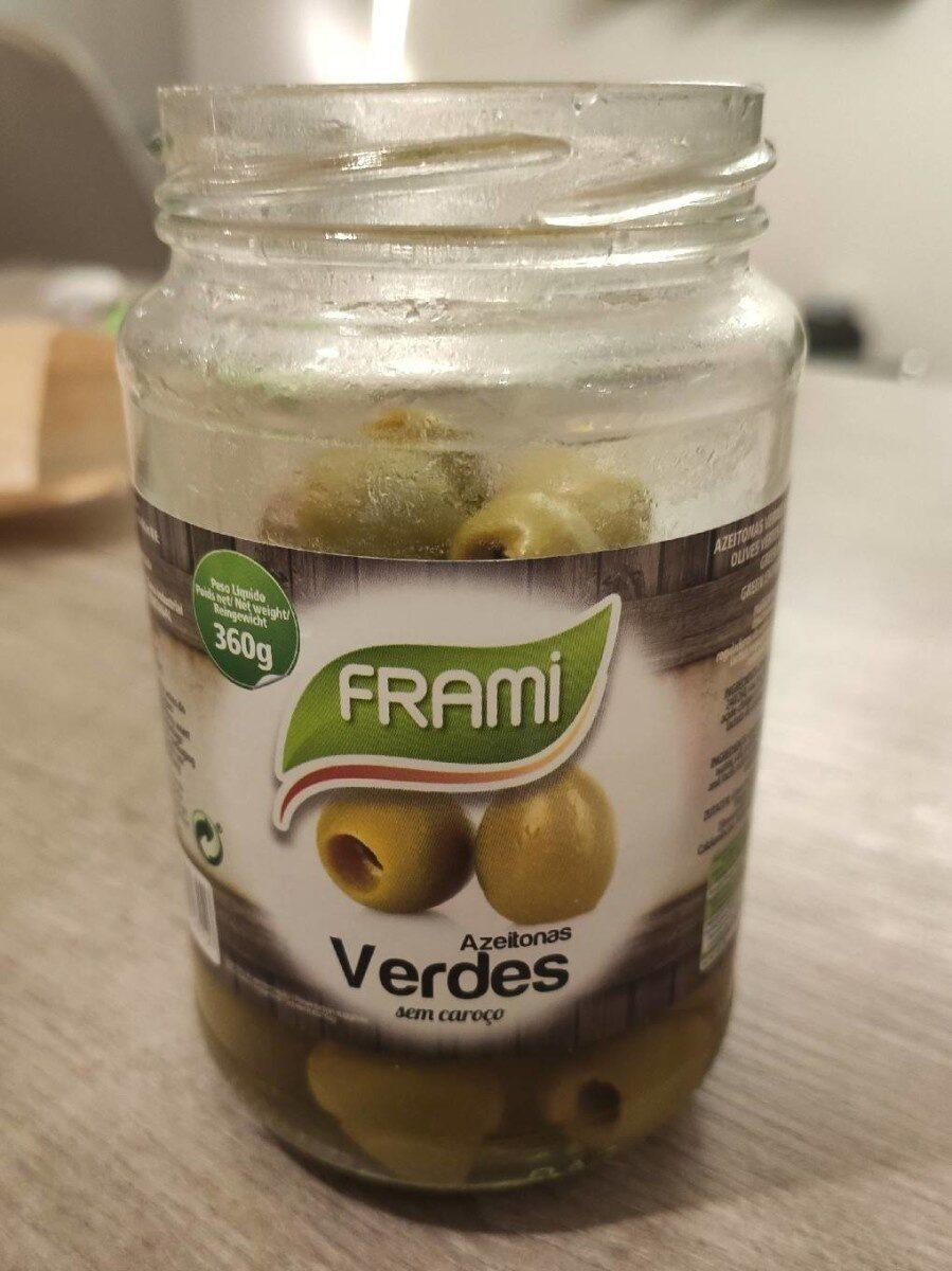 Frami verdes - Voedingswaarden
