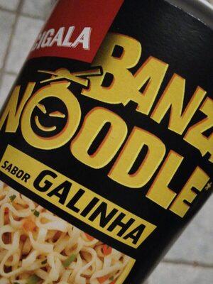 Banzai noodle sabor galinha - Produit - fr