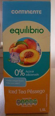 ICED TEA PÊSSEGO - Product - fr