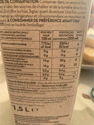 Equilibrio maçà - Nutrition facts - fr