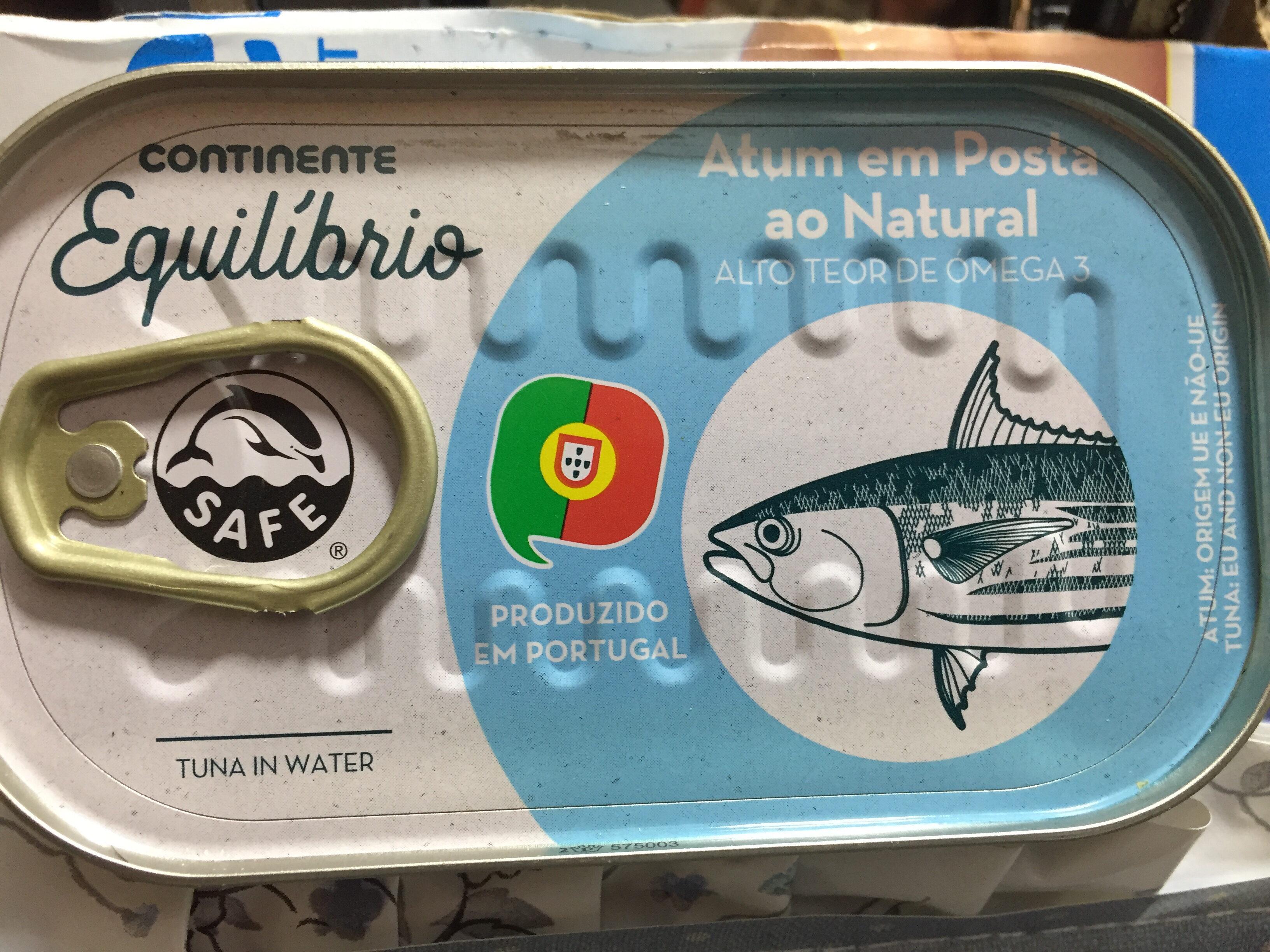 Atum em posta ao natural - Produkt - pt