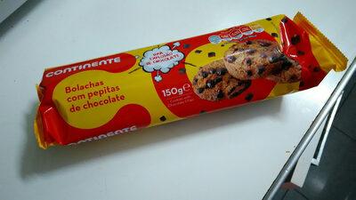 bolachas com pepitas de chocolate - Product - pt