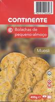 Biscoitos matinais Muesli - Produit - pt