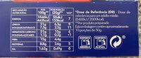 Pipocas Salgadas - Voedingswaarden