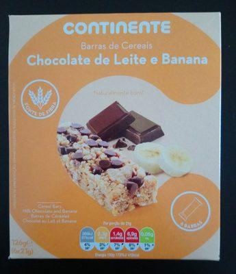 Chocolate de leite e banana - Product