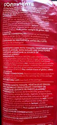 Camponesas - Ingredientes - de