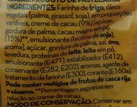 Napolitana com Recheio de Cacau - Ingrediënten - pt