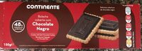 Bolacha coberta com chocolate negro - Product