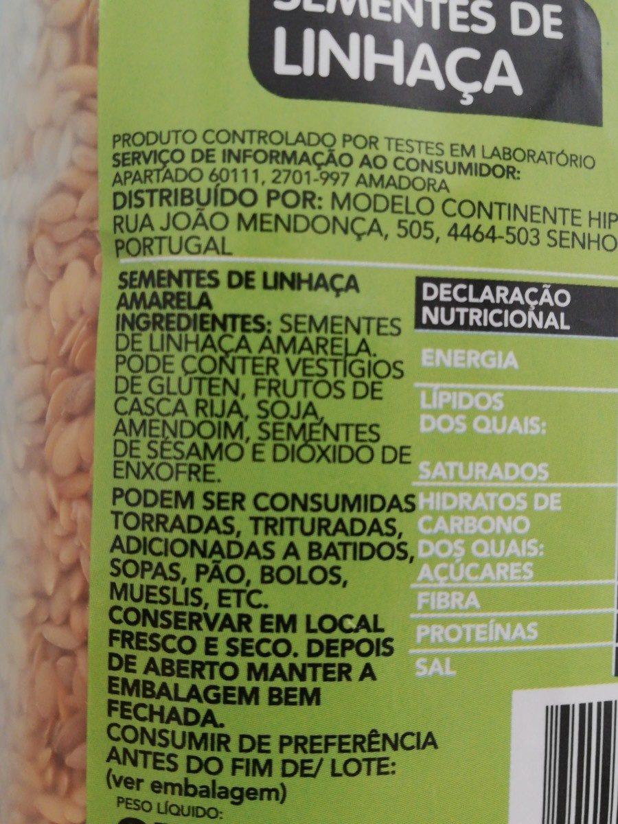 Graines de lin - Ingrediënten - fr