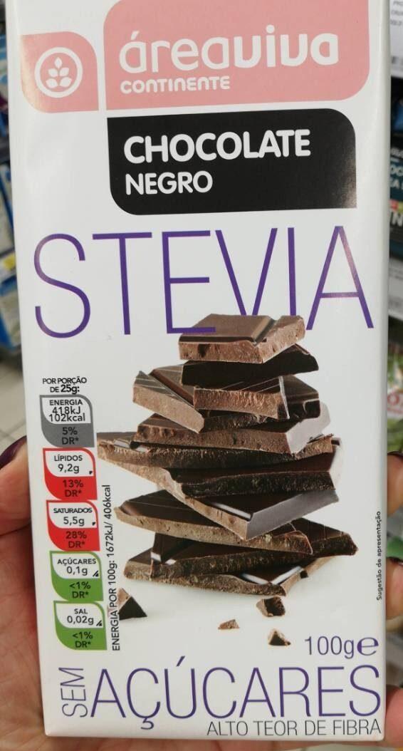 Chocolate negro stevia - Product