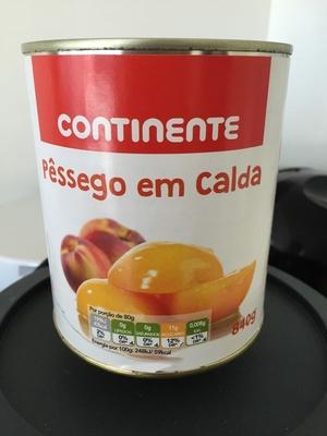 Pêssego em calda - Product