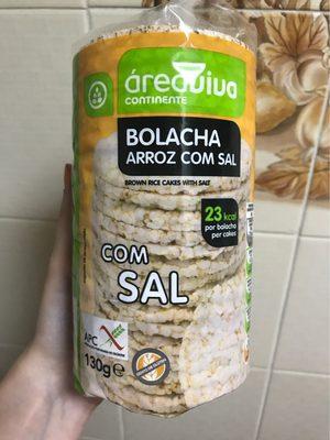 Bolacha de arroz com sal - 2