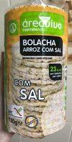 Bolacha de arroz com sal - Product - pt