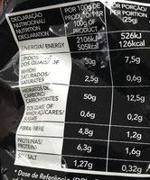 Extra Onduladas - Voedingswaarden - fr