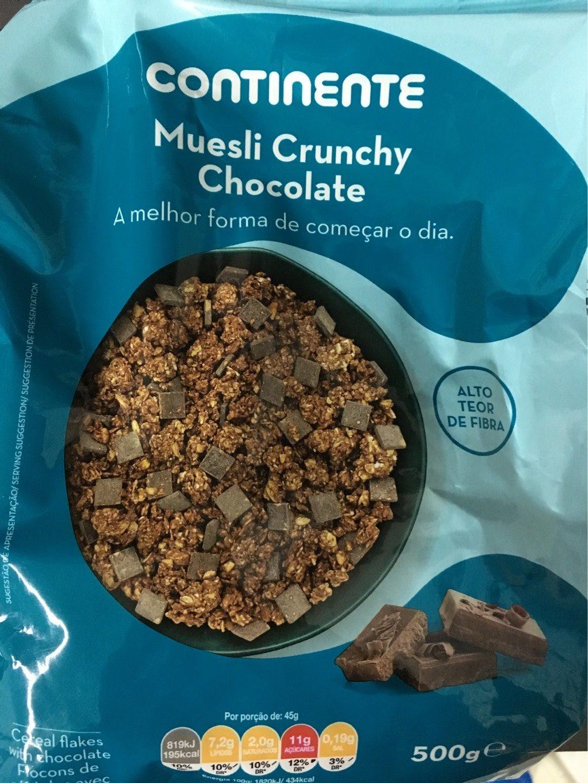 Muesli Crunchy Chocolate - Product