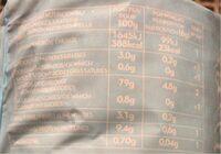 Tortitas de Arroz Integral - Voedingswaarden - es