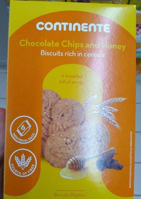 biscuits au miel et pépites de chocolat - Product - fr