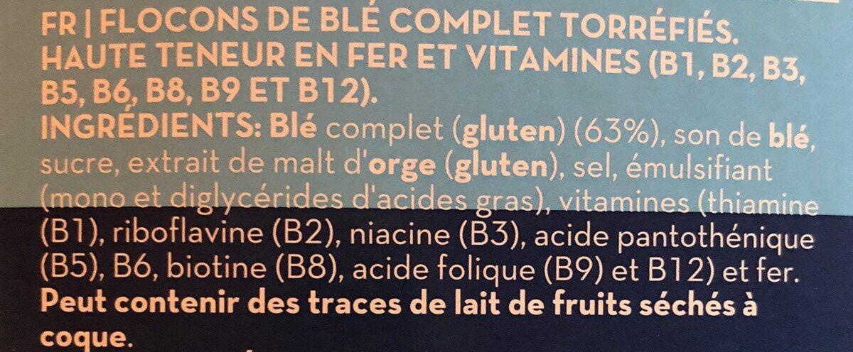 Equilibro bran flakes cereals - Ingrediënten - fr