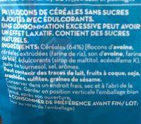 Crunchy Muesli equilibrio - Ingrediënten - fr