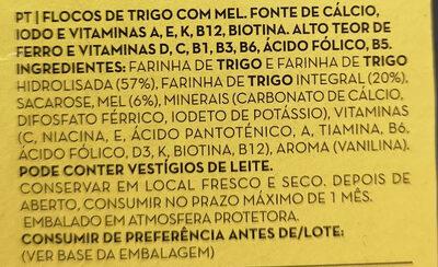 Flocos de Trigo - Ingrediënten
