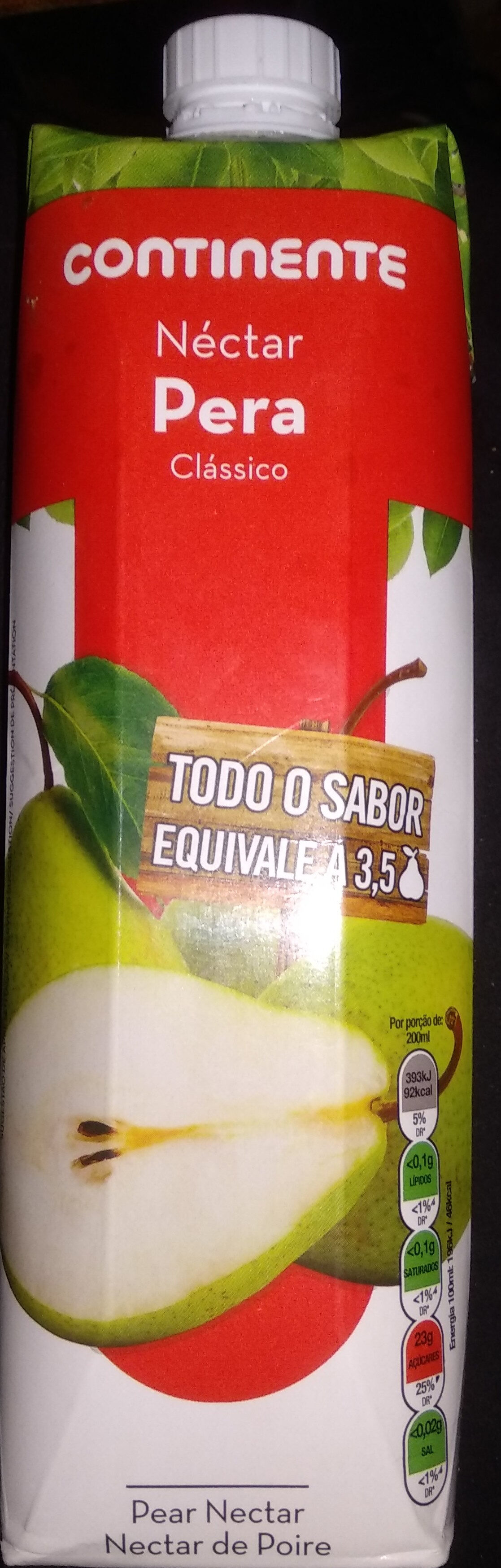 Nectar Pera Continente - Product - pt