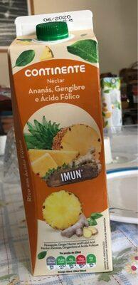 Néctar Ananás, Gengibre e Ácido Fólico - Product - fr
