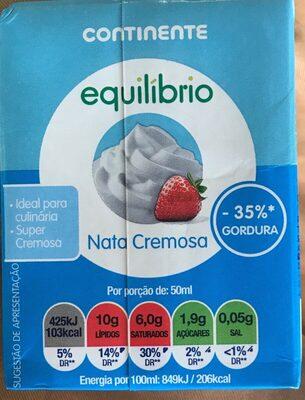 Nata cremosa - Product