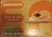 Tostas de trigo extrafinas - Product