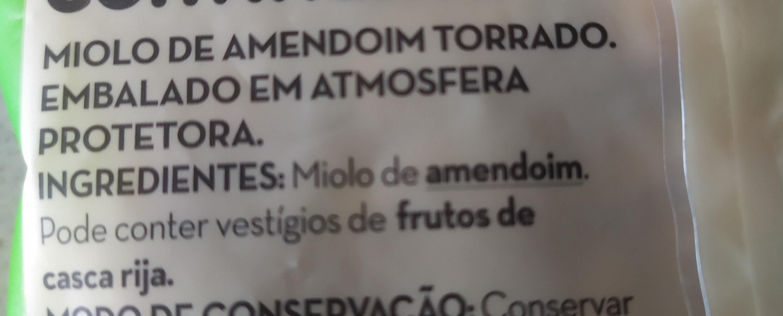 Miolo de Amendoim - Ingrediënten - pt