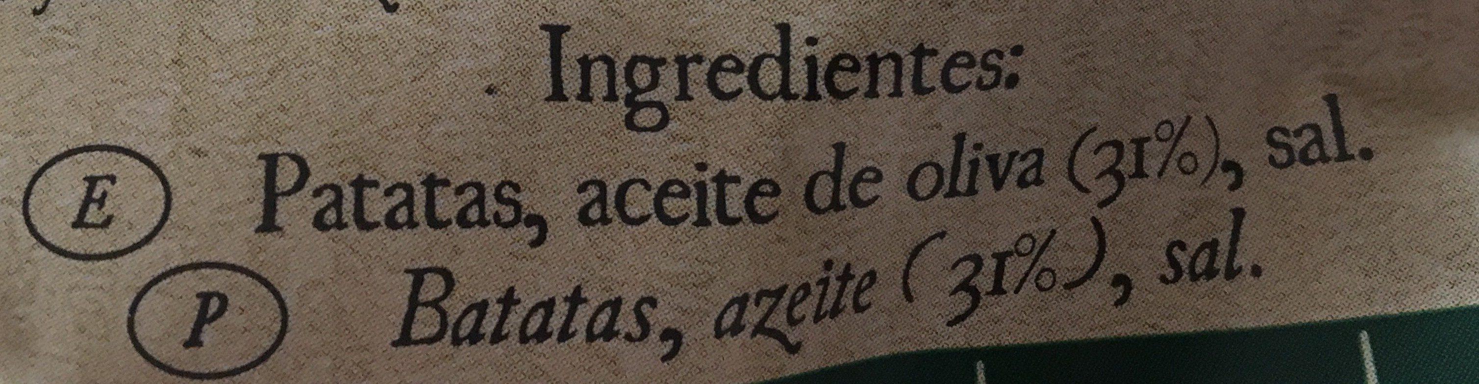 Mediterráneas 100% feitas em azeite (Pack Económica) - Ingredientes - pt