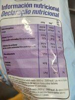 Patatas fritas al punto de sal light sin gluten - Nutrition facts