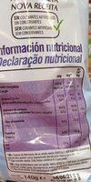Patatas Lays light - Nutrition facts - en