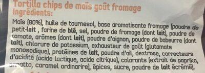 Doritos Tex Mex - Ingredientes - fr
