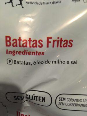 Originais - Ingredientes - pt