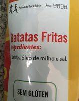 Lays Originais - Ingredientes - pt