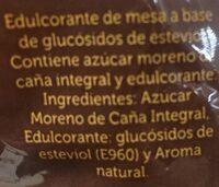 Azucar moreno - Ingrediënten
