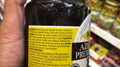 Olives Noires Entières - Produit - fr