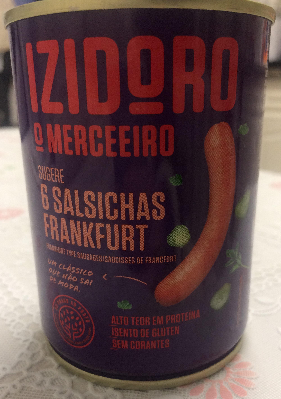 Izidoro Salsichas Frankfurt - Product - pt