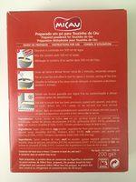 Micau Pudim Touchino Do Ceu 230G - Ingredients
