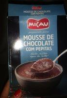 Micau Mousse Chocolat Pepites 145G - Produit - fr