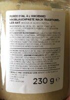 Massa De Alho Paladin - Informations nutritionnelles