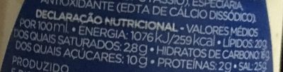 Molho De Iogurte Paladin - Informations nutritionnelles