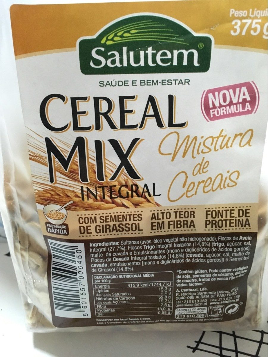 Cereal Mix integral - Product